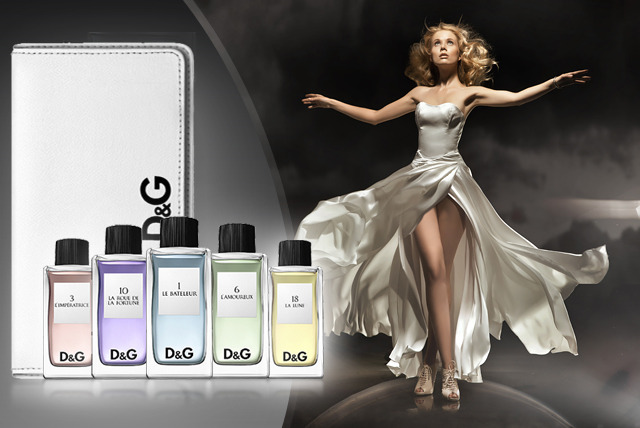 £39.99 instead of £59.99 (from Just Miniatures) for a set of five 20ml D&G fragrances inc. branded pouch - save 33% + delivery included