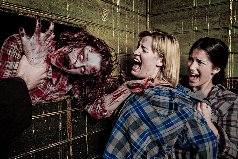 £14 instead of £24.99 for a 'Trapped in a Room with a Zombie' experience at Zombie in a Room, Burton-upon-Trent - save 44%