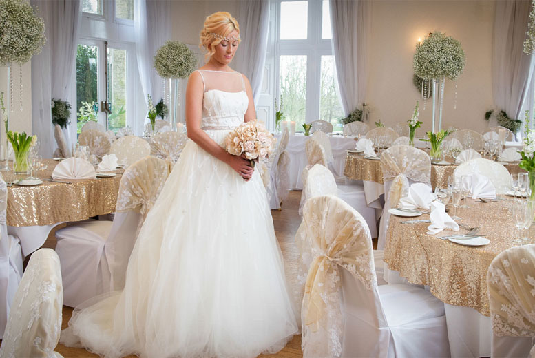 £2499 instead of £5307.50 for a 50-guest wedding package at Cave Castle Hotel & Country Club, East Yorkshire - save 53%