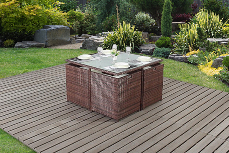 Wowcher deal instead of from wowcher for Garden furniture deals