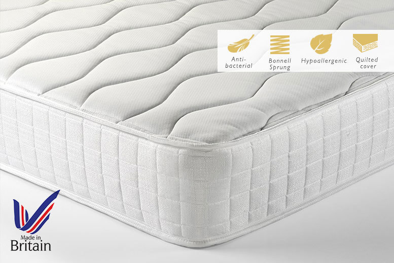 £39 instead of £330.01 (from My Mattress Online) for a RoyalSleep hybrid memory spring mattress, £59 for a double or £69 for a king-size - save up to 88%