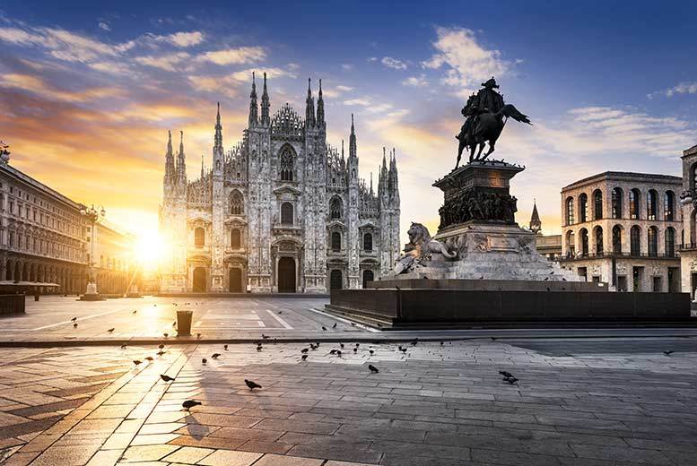 From £69pp (from Weekender Breaks) for a two-night 4* luxury Milan break with flights and optional wine tasting, from £129pp for a three-night break - save up to 49%
