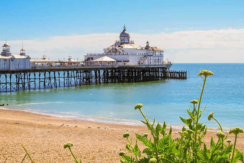 From £39 for an overnight stay in Eastbourne for two people with breakfast, from £59 for four, from £69 for a two-night stay for two, from £89 for four - save up to 52%