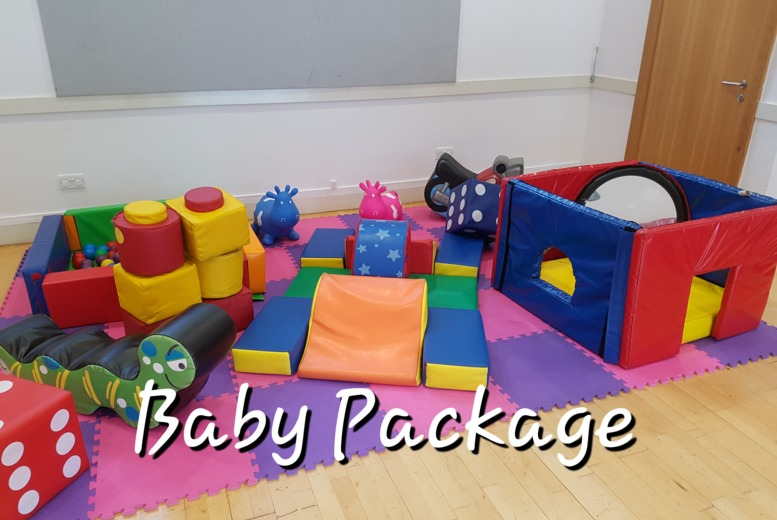 3hr Soft Play Hire - 4 Packages!