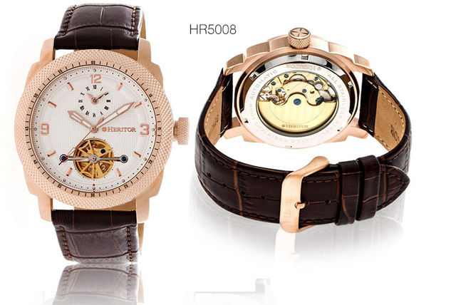 Heritor Helmsley Mens Watch