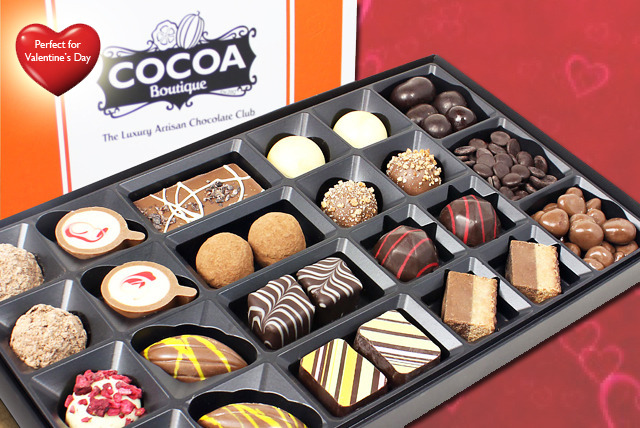 £12.95 instead of £34.95 (from Cocoa Boutique) for a 300g selection of signature chocolates - save a sweet 63%