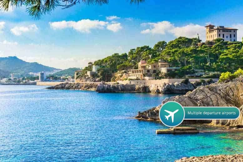 From £69pp for a two-night Mallorca break with flights, from £89pp for three nights, from £139pp for five nights, from £169pp for seven nights - save up to 37%