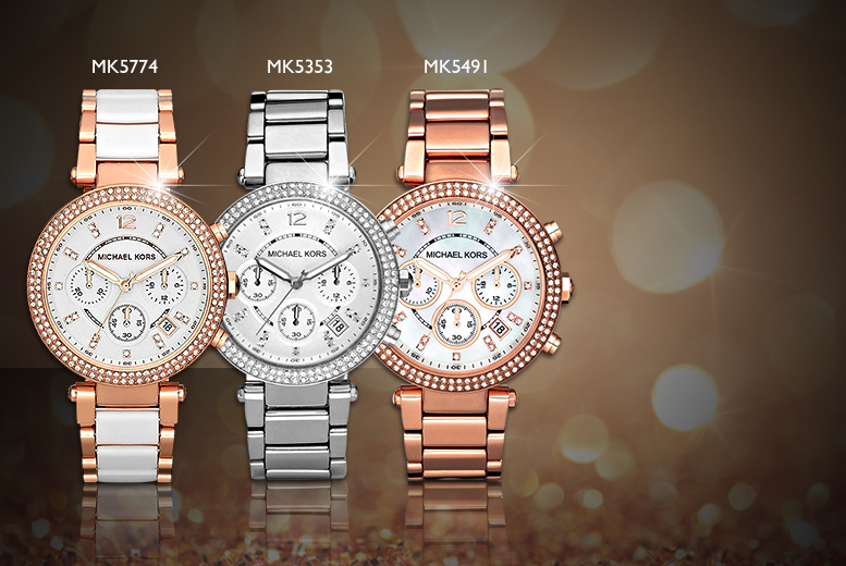 From £129 for a ladies' Michael Kors bracelet watch from Wowcher Direct - choose from six designs & save up to 44%