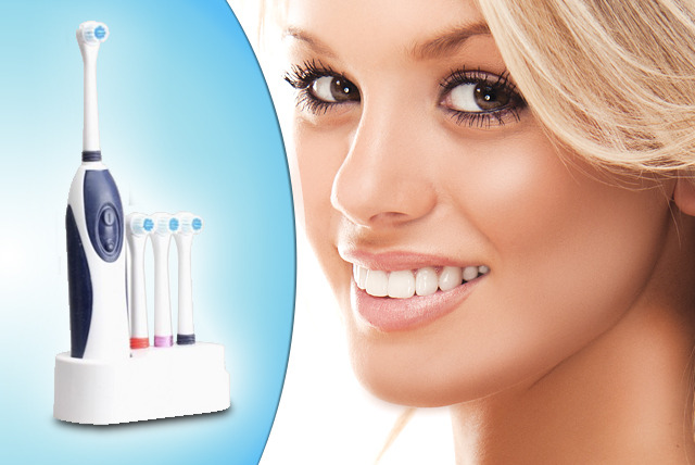 £14 instead of £49.99 (from EGUK) for a dental care electric toothbrush - keep your pearly whites pearly and save 72%