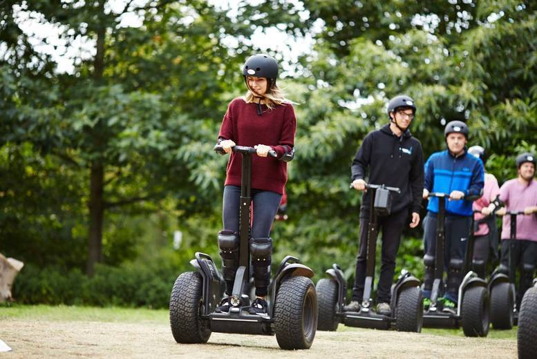 £19.95 for a weekday Segway experience for one, from £29.99 for an experience for two, or £99 for four with Segway Events - choose from 14 locations and save up to 41%