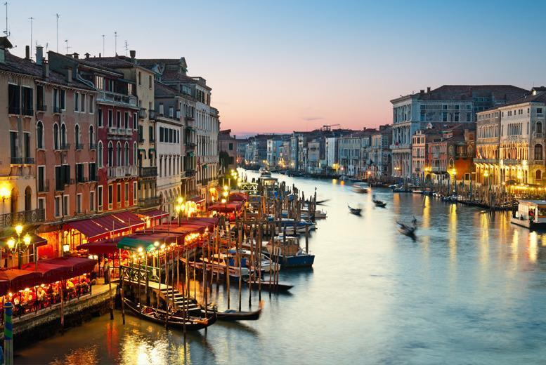 From £79pp instead of up to £113.48pp (from Tour Center) for a 2-night Venice break including flights & choice of hotel, from £119pp for 3nts - save up to 30%