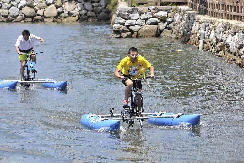90min Akwakak Water Cycling Experience for 2 or 4