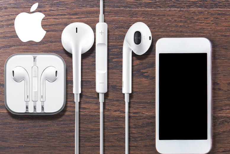 £7.99 instead of £32 (from HandTec) for a pair of Apple EarPods with built-in mic, remote and 3.5mm headphone plug, £12.99 for two - save up to 75%