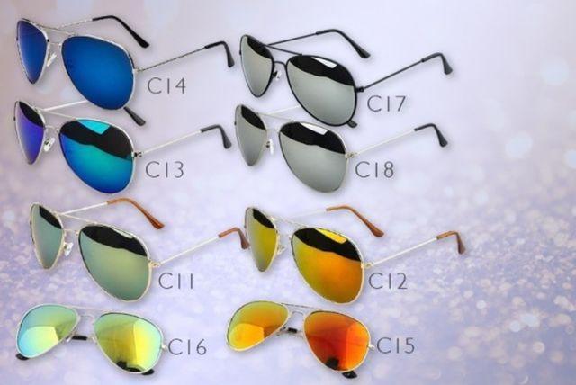 2 aviator sunglasses