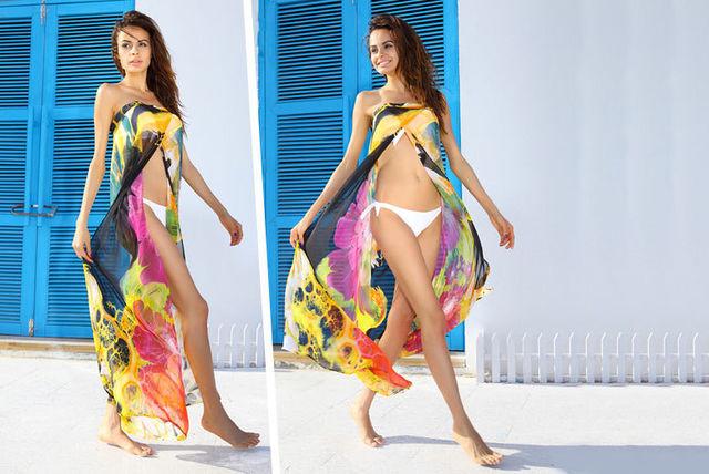 beach sarong dress
