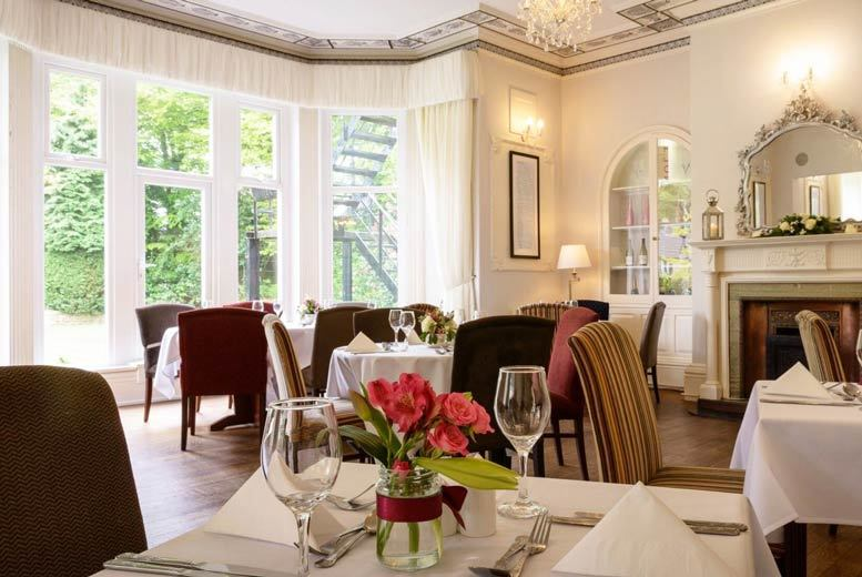 From £69 (at Durker Roods Hotel) for an overnight stay for two people including breakfast and a two-course dinner, from £109 for two nights - save up to 47%