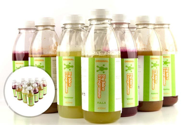 £29.95 instead of £64.99 for a three-day juice course, £59.95 for five days, £79.95 for seven, £129 for ten or £159 for 14 with My Juice Programme - save up to 54%