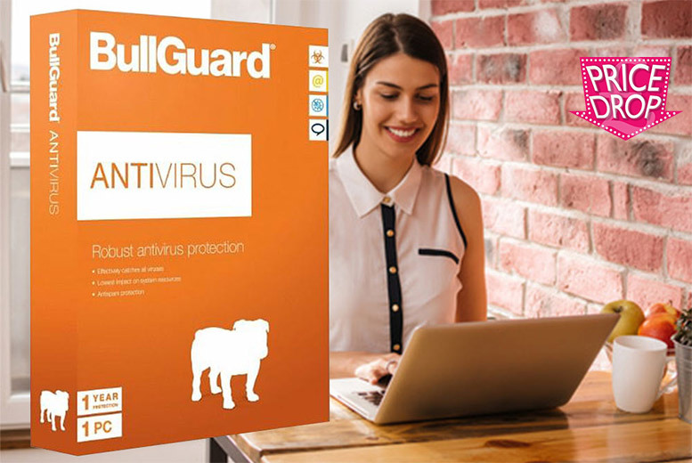 £8 instead of £23 for a bullguard PC antivirus software from Retail ABC Ltd  save 65