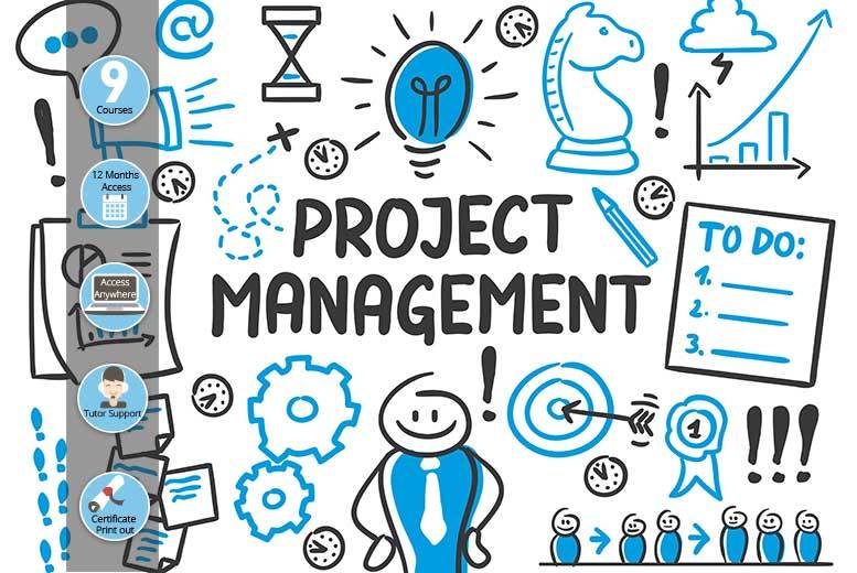 £79 instead of £2999 (from E-courses4you) for an online project management nine-course bundle - save 97%