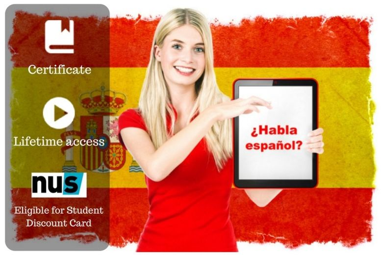 £9 instead of £100 for an online beginners' spanish course from OfCourse - save 91%