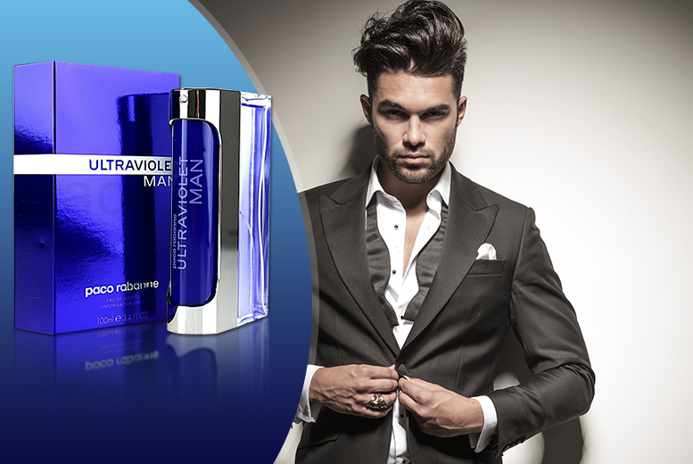 £26 instead of £47.01 for a 100ml bottle of Paco Rabanne Ultraviolet Man eau de toilette from Wowcher Direct  save 45