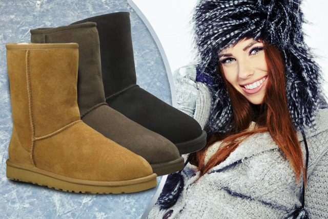 £30 instead of £150 (from Evaniy) for wool-lined boots in a choice of black, chocolate or tan - keep your feet snug & save 80%