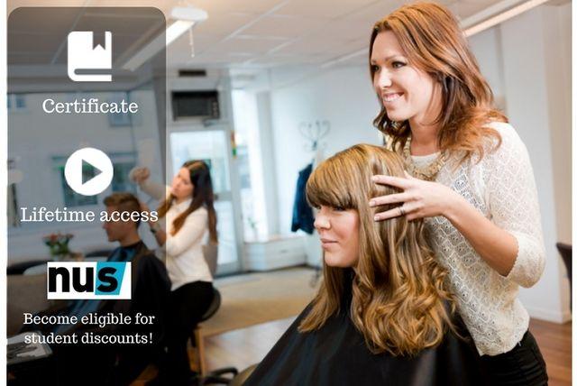 Online Hair Styling Course Hair Styling Course