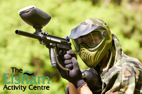 £5 for a full day of paintballing for 4 people or £10 for 10 at the Elsham Activity Centre including 100 paintballs and lunch each – save up to 93%