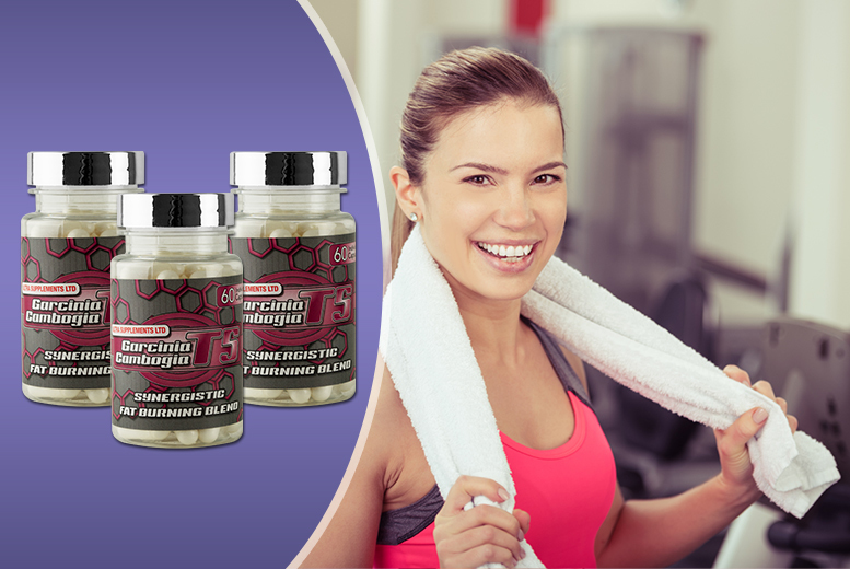 £17 (from Wowcher Direct) for a 3-month* supply of T5 Garcinia Cambogia maximum strength capsules - save 84% + DELIVERY INCLUDED