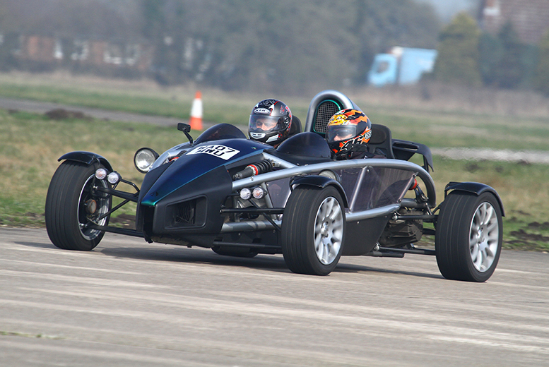 £39 for a 90-minute Ariel Atom, Audi R8 or Lotus Elise supercar driving experience at a choice of 3 locations with Driving Sensation - save 43%
