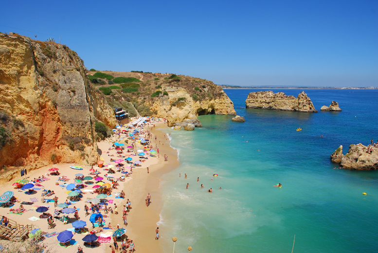 From £179pp instead of up to £338.61pp (from Tour Center) for a 7-night break to Lagos, Portugal including flights - save up to 47%