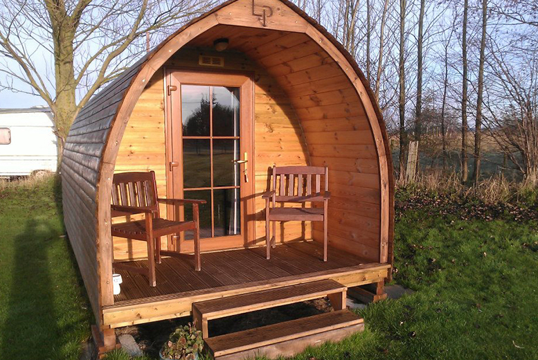 £39 instead of up to £55 (at Yapham Holds Farmhouse, Yorkshire) for a 1-night glamping experience for 2 people, or from £74 for 2 nights - save up to 29%