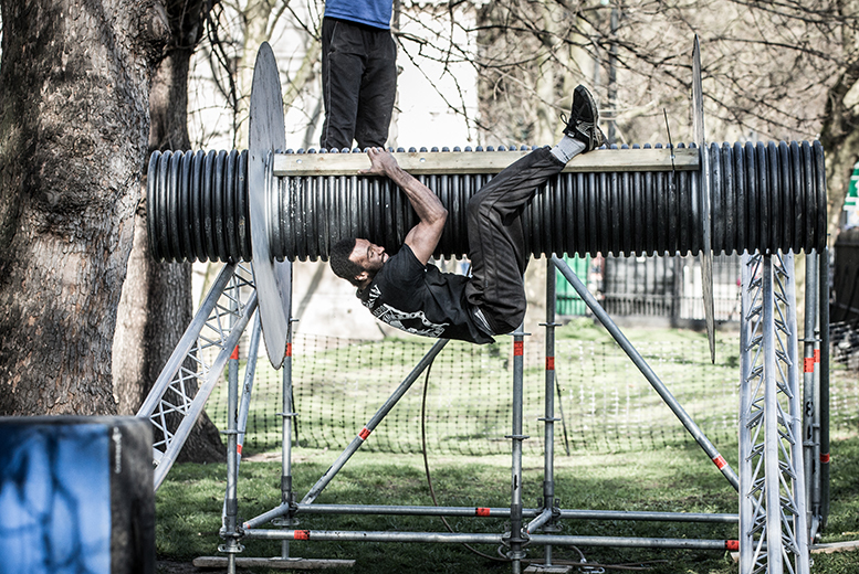 £19 instead of up to £40 for a 2-hour urban obstacle course experience with Urban Ninja, Tooting Bec Common - save 52%