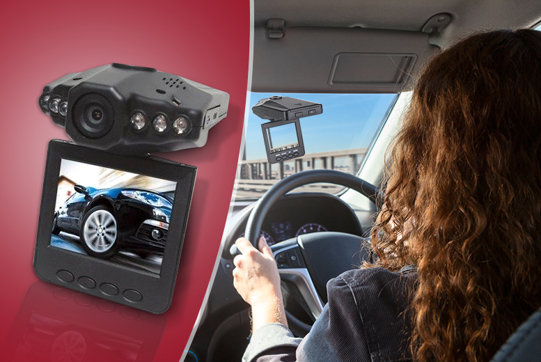£16.99 instead of £99.99 (from Emyub) for an in-car accident camera - save 83%
