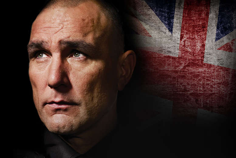£24.99 instead of £50 for a ticket to An Experience with Vinnie Jones including a three-course meal at Birmingham Hilton Metropole on 6th May - save 50%