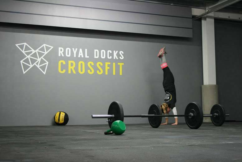 £10 for eight beginner CrossFit classes at Royal Docks CrossFit, London - save 94%