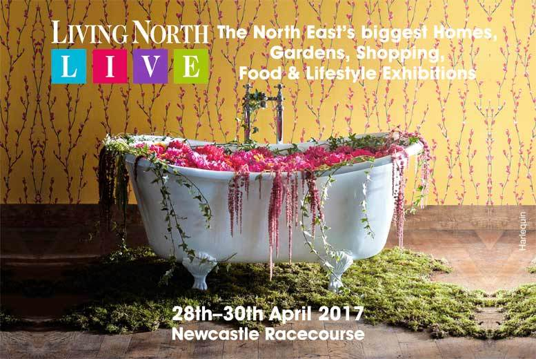 £7 instead of £10 for two tickets to The Living North Spring Fair at Newcastle Racecourse - save 30%