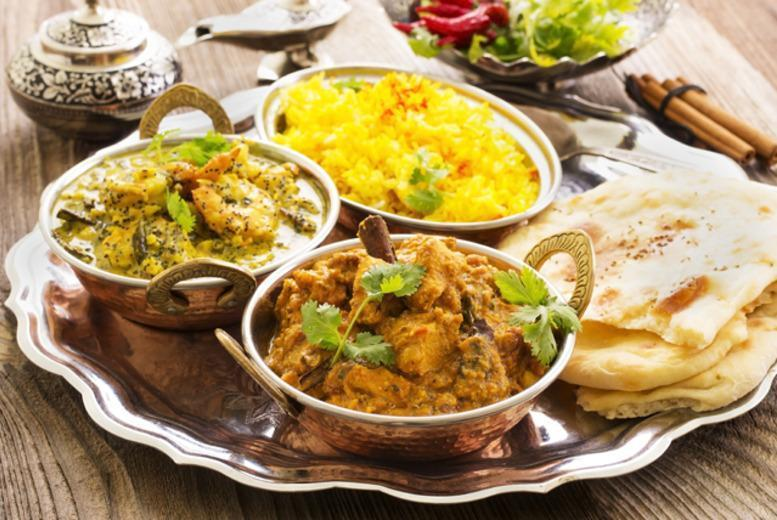 £16 instead of up to £39.70 for a 3-course Indian meal for 2 including a glass of wine each, £29 for 4 people at Café Rickshaw, Wolverhampton - save up to 60%