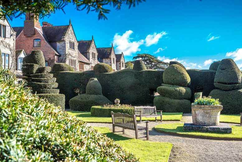 From £139 (at The Billesley Manor Hotel) for an overnight stay for two people with dinner, breakfast, wine and late check-out, from £219 for two nights including afternoon tea - save up to 45%