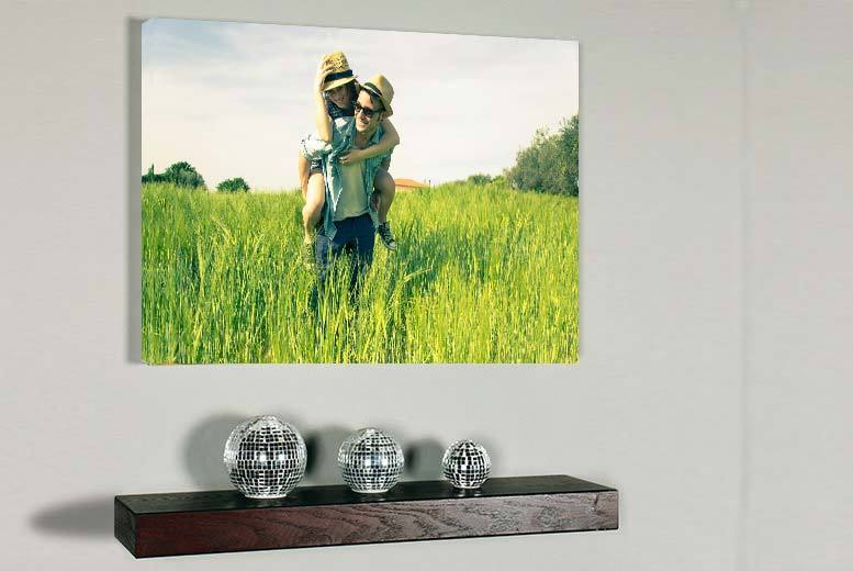 £9 instead of £44.99 (from Your Perfect Canvas) for an A2 personalised canvas - save a picture-perfect 80%