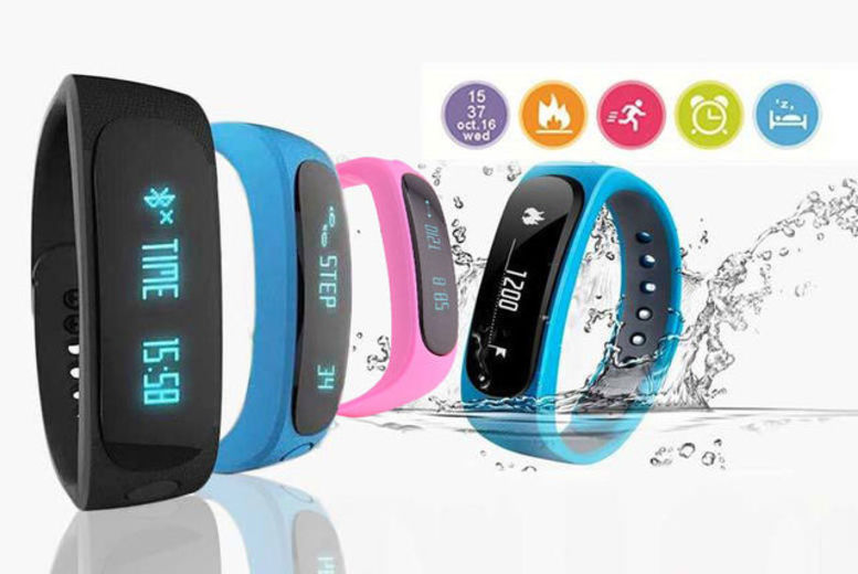 £12.99 instead of £144 (from TLD:Retail) for a 12-in-1 Bluetooth fitness tracker - choose from black, pink and blue and save 91%