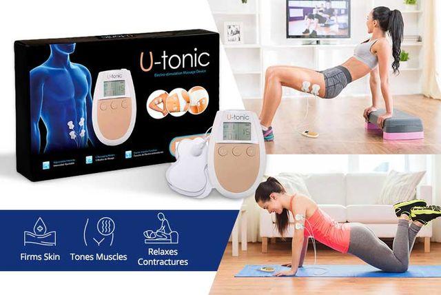 u-tonic electro stimulation muscle toning unit