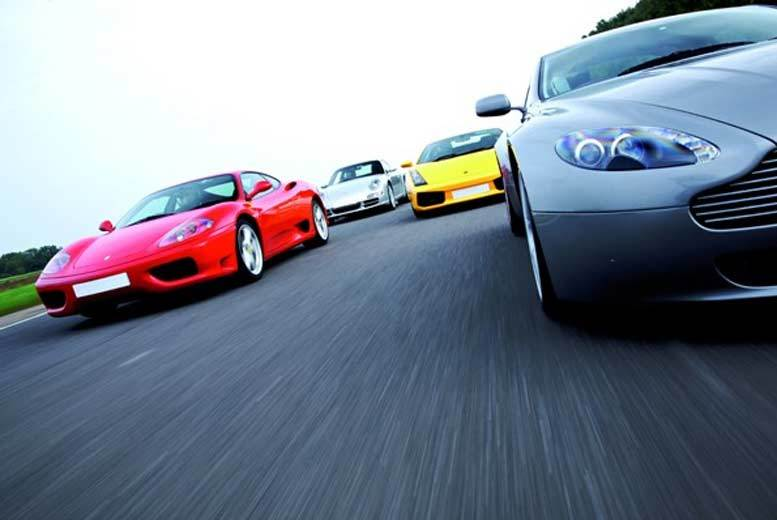 DDDeals - £69 for a double supercar driving blast at Goodwood from Buyagift - get behind the wheel of a world-class vehicle!