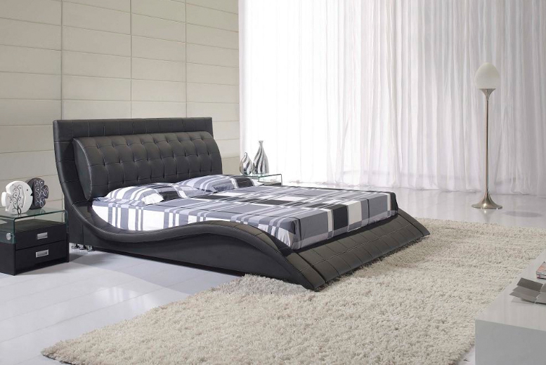 Double Bed : for a faux-leather double bed, £209 for a king, £269 for a double ...