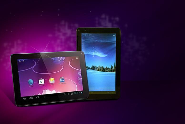 "£55 instead of £209.99 for a 9"" dual core LCD panel touchscreen Android tablet from Wowcher Direct - save 74%"