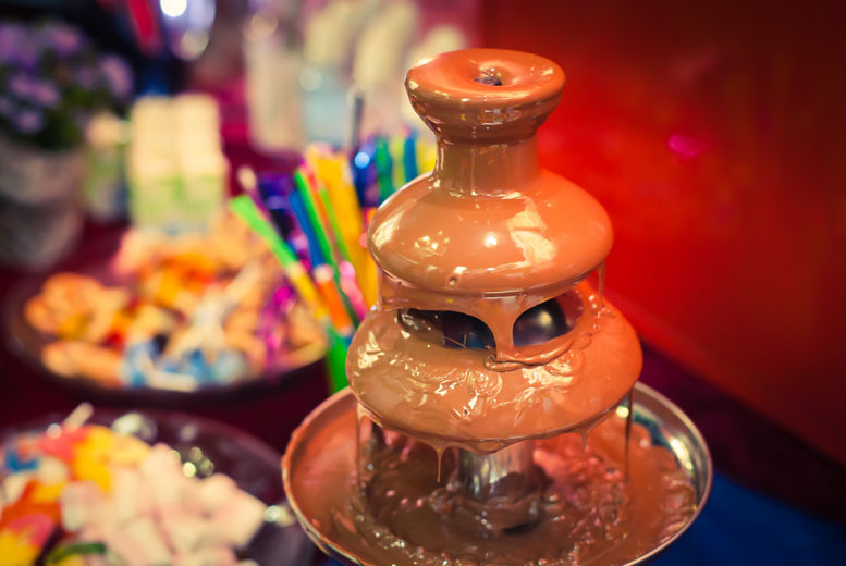 £69 instead of £149 for a 2½-hour chocolate fountain hire for 30 guests, or £129 for 60 guests from Chocolate Fountain Hire UK - save up to 54%