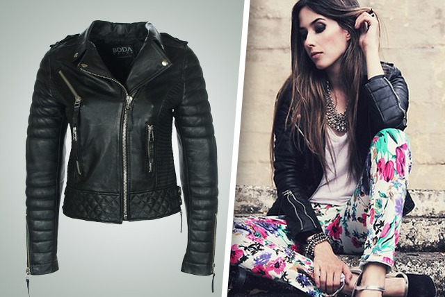 £189 instead of £369 (from Boda Skins) for a studded leather biker jacket or a quilted leather jacket - transcend the seasons and save 49%