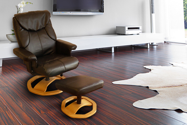 £149.99 instead of £299 (from Grampian Furnishers) for a Bologna massage recliner chair with matching footstool - save 50%