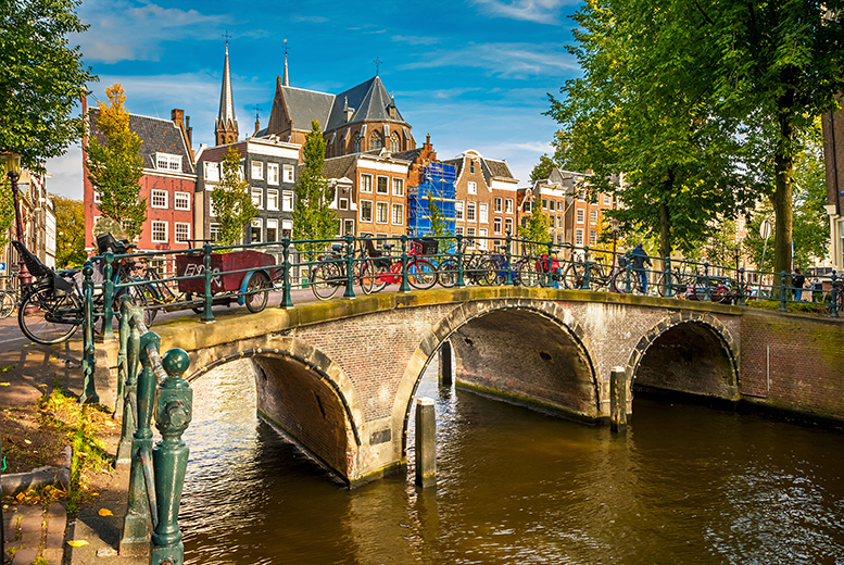 From £89pp instead of up to £113.98pp (from Crystal Travel) for a 2-night Amsterdam break including flights, from £109 for 3