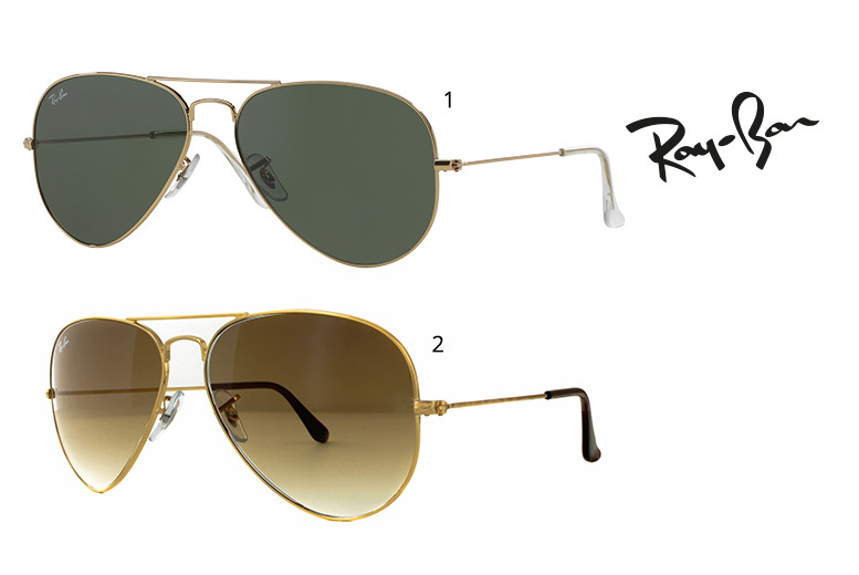 From £79 (from Maverick & Wolf) for a pair of RayBan aviator sunglasses  choose from two styles and save up to 36